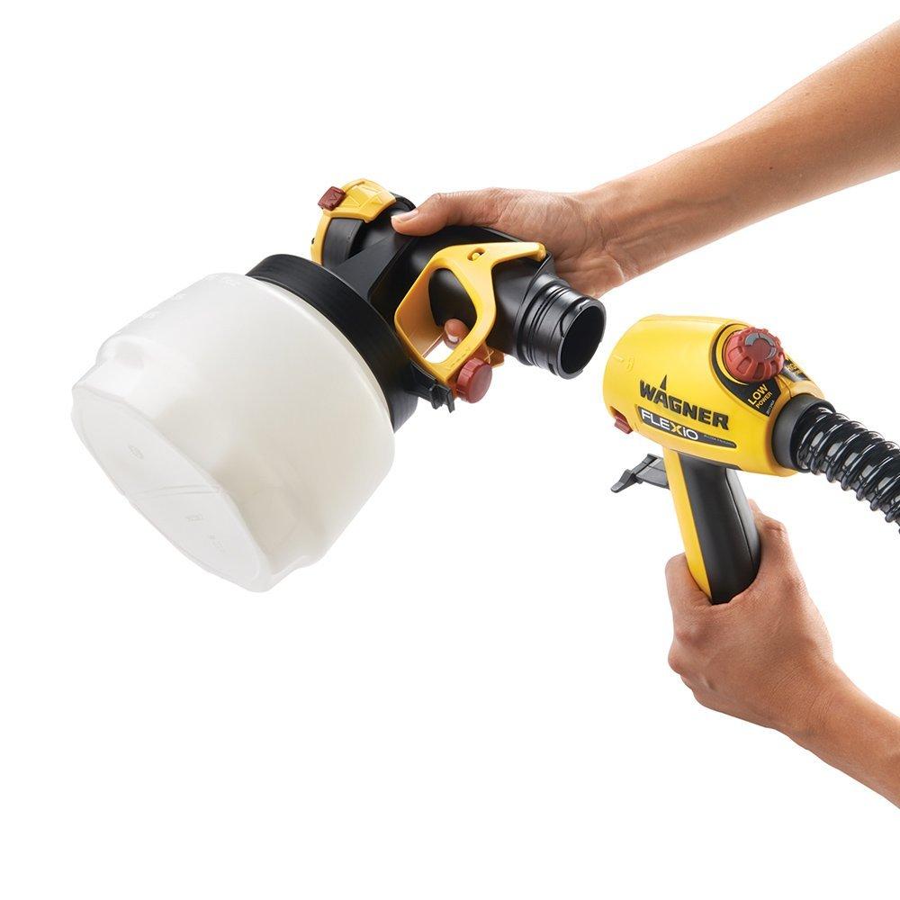connecting the flexio 890 sprayer