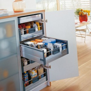 organize a small kitchen without a pantry