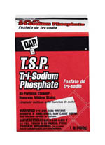 cleaning with Trisodium Phosphate